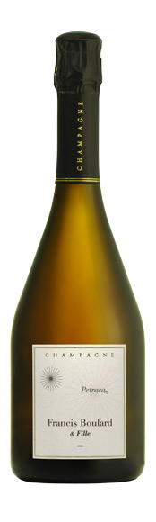 Bouteille champagne Petraea