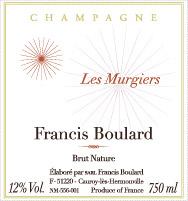 Champagne Francis Boulard - Les Murgiers