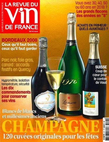 Commentaires de presse champagne francis boulard et fille for Revue vin de france